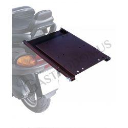 Divisorio per portapizze in alluminio su misura