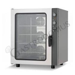 Forno elettrico meccanico trifase a convezione per pasticceria con umidificatore per 10 teglie 600x400 mm