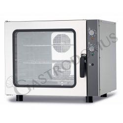 Forno elettrico meccanico a convezione per gastronomia - umidificatore - trifase - per 6 teglie GN 1/1 530 x 325 mm
