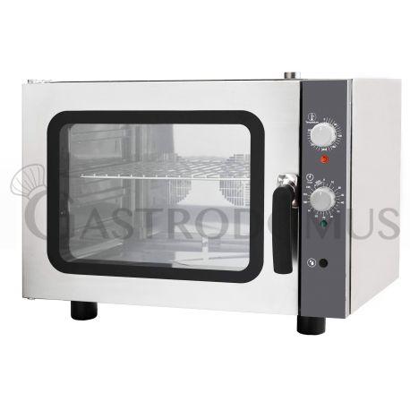 Forno elettrico meccanico a convezione per gastronomia - umidificatore - per 4 teglie GN 2/3 353x325 mm