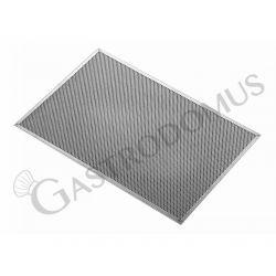 Retina in alluminio anodizzato nero di diametro 30 cm