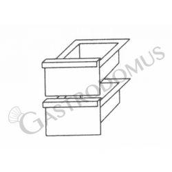 Coppia di cassetti per base da 30 cm