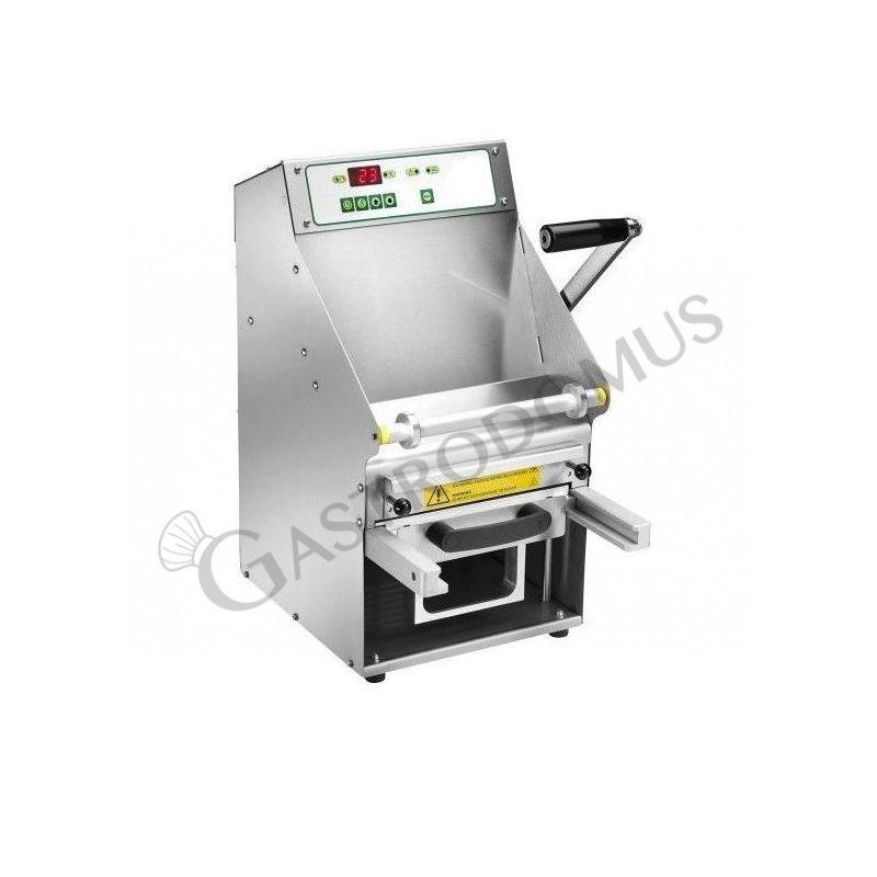 Termosigillatrice manuale in acciaio inox, larghezza film 200 mm, potenza 0,7 kW