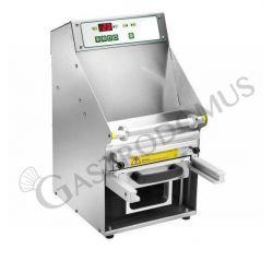 Termosigillatrice automatica in acciaio inox, larghezza film 200 mm, potenza 0,75 kW
