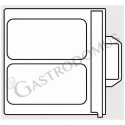 Stampo per termosigillatrice - 2 impronte dimensioni 180 mm x 280 mm