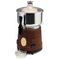 Cioccolatiera elettrica in acciaio inox capacità 8 litri