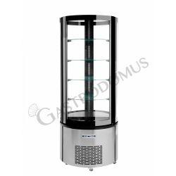 Espositore refrigerato pasticceria - capacità 400 LT - temperatura +2°C/+8°C
