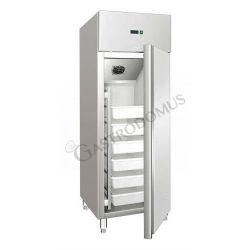 Armadio refrigerato statico per caseificio - temperatura -5°C/+4°C - capacità 535 LT