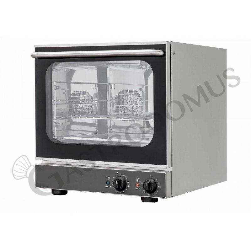 Forno elettrico meccanico a convezione per gastronomia predisposto per 4 teglie GN 2/3 353x325 mm