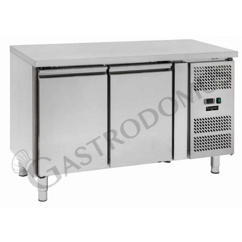 Tavolo refrigerato - 2 porte - Prof. 600 - temperatura -2°C/+8°C - tropicalizzato