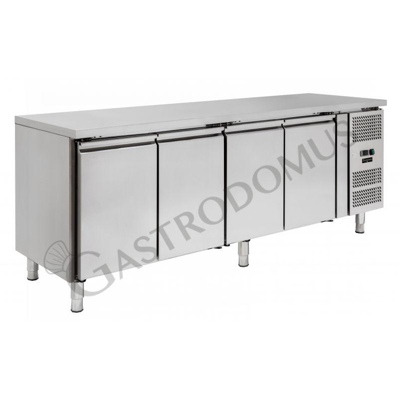 Tavolo refrigerato - 4 porte - Prof. 600 - temperatura -2°C/+8°C - tropicalizzato