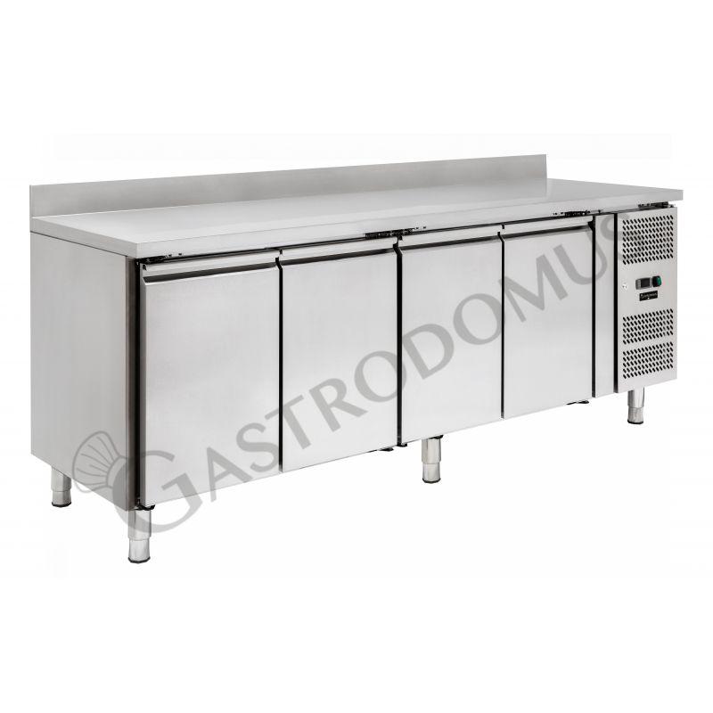Tavolo refrigerato - 4 porte - alzatina - Prof. 700 -2°C/+8°C