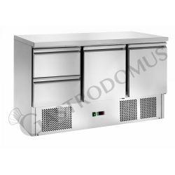 Saladette - refrigerazione statica - capacità 368 LT - 2 porte - 2 cassetti