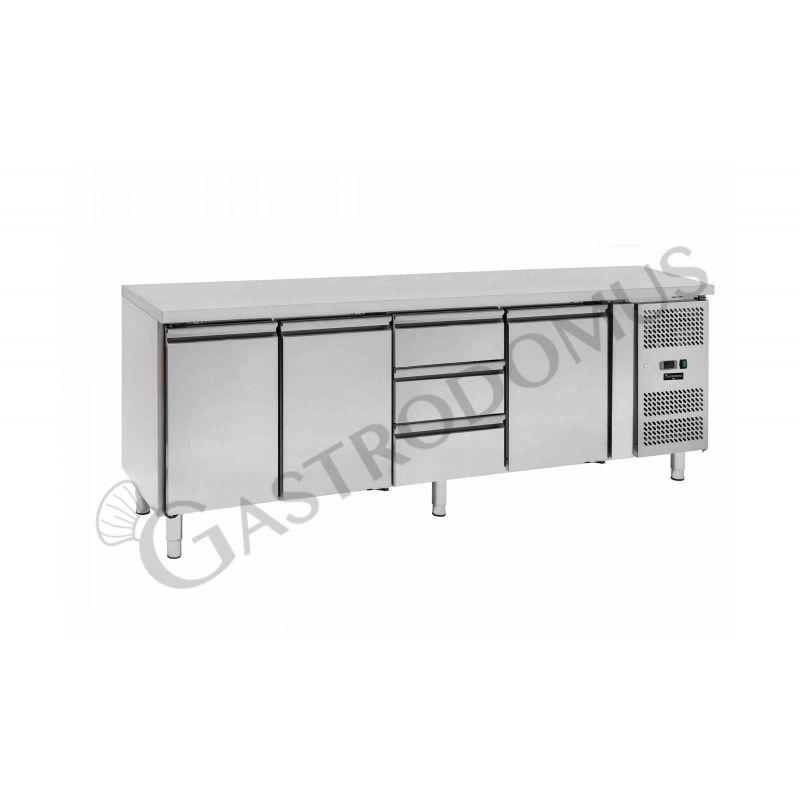 Tavolo frigo - mod. GA4100TN3CDD | Gastrodomus