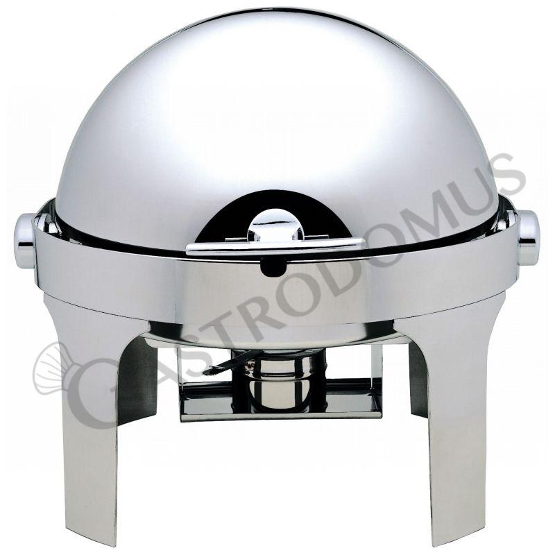 Chafing dish con coperchio roll top 180°
