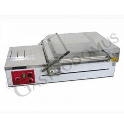 Taglierina automatica per pasticceria con piano di dimensioni L 40 x P 40 cm