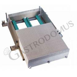 Base Chitarra a doppio taglio per pasticceria con dimensioni piano di taglio L 36 cm x P 36 cm