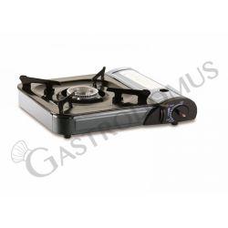 Fornello portatile con alimentazione a cartuccia di gas - potenza 2,2 kW