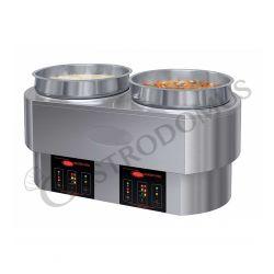Fornellone in ghisa con valvola e accensione piezoelettrica - L 560 mm x P 400 mm x H 180 mm