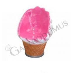 Poltroncina a forma di gelato soft - Altezza 90 cm
