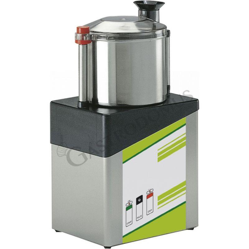 Cutter monofase con capacità vasca 3 LT e potenza 750 W