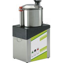 Cutter monofase con capacità vasca 8 LT e potenza 750 W - 1 velocità