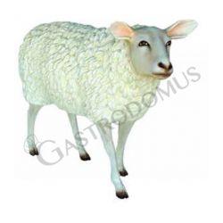 Pecora in piedi in vetroresina - Altezza 85 cm