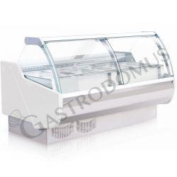 Vetrina espositiva ventilata Carla gastronorm, Temp. +1°/+10°C, L 2000 mm