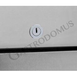 Armadio refrigerato ventilato - temperatura -2/+8°C - 1333 LT - full optional
