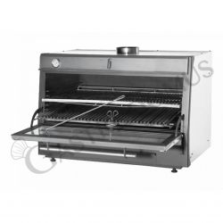 Forno a carbone da interno - 1 camera - L 1200 mm x P 733 mm x H 870 mm