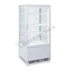Espositore refrigerato ventilato per bibite - capacità 78 LT - temp. 0° C/ + 12° C