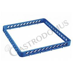 Rialzo universale per cestello colore blu h 45 mm