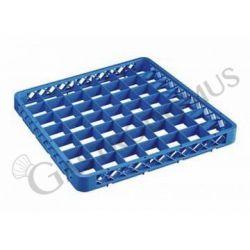 Rialzo 49 scomparti per cestello colore blu h 45 mm