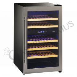 Cantina free standing per vino - refrigerazione ventilata - temp +5°C/+10°C e +10°C/+18°C