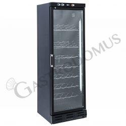 Cantina refrigerata color nero per vini - 350 LT - temperatura +7°C/+20°C