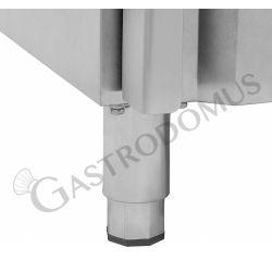 Armadio refrigerato ventilato TN - 2 porte vetro - Capacità 1333 LT