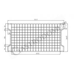 Cestello congelatore a pozzetto per gelato 245 Lt - porta vetro curvo e temperatura - 25° C/ - 18° C
