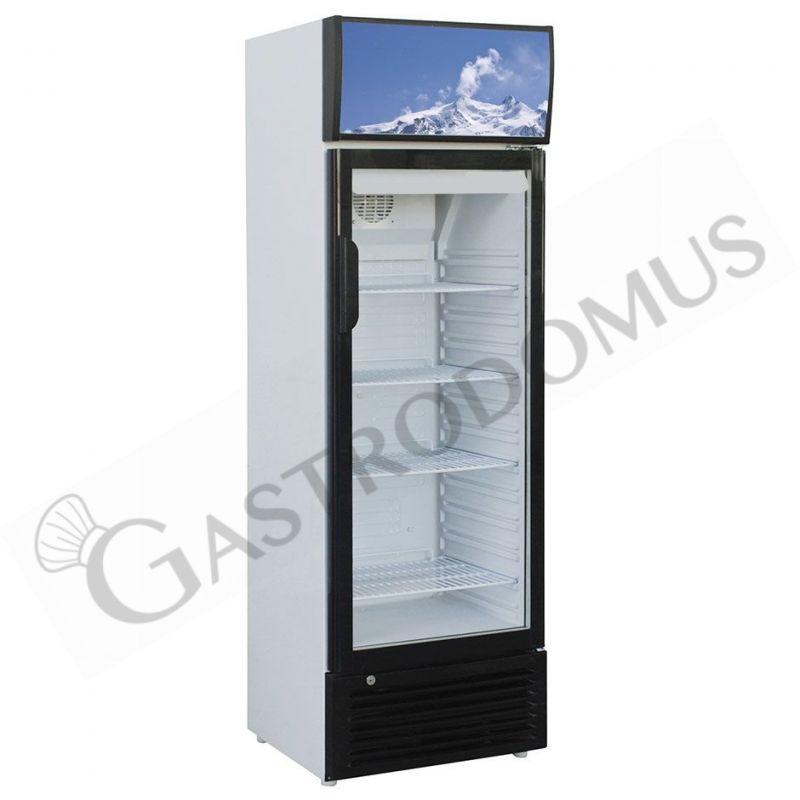 Armadio a refrigerazione statica per bibite - capacità 244 LT - temp. +2° C/ +8° C