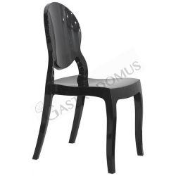 Sedia Specchio con struttura seduta e schienale in policarbonato