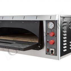 Forno elettrico aperto per 6 pizze di diametro 35 cm con 1 camera orizzontale a controllo meccanico