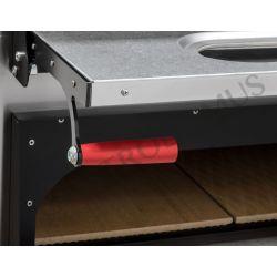 Forno elettrico per 8 teglie 60x40 o 12 pizze diametro 40 cm con 2 camere a controllo meccanico
