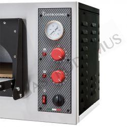 Forno elettrico per 6 pizze di diametro 32 cm con 1 camera a controllo meccanico - potenza 7,2 KW