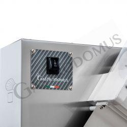 Stendipizza in inox con rulli inclinati in PEHD per pizze diam. 26/40 cm