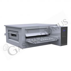 Forno per pizza a tunnel elettrico-trifase con nastro trasportatore 65 cm