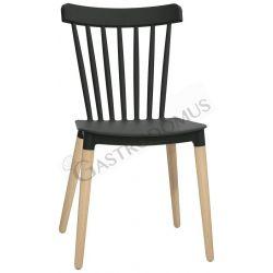 Sedia Elena con gambe in...