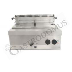 Friggitrice elettrica per pasticceria da banco con 1 vasca di capacità 21 litri
