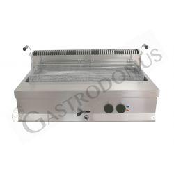 Friggitrice elettrica per pasticceria da banco con 1 vasca di capacità 32 litri