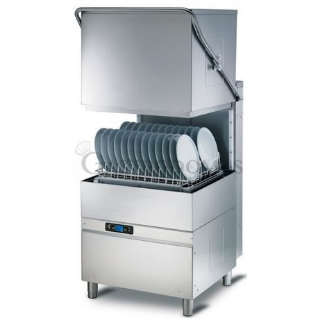 Lavapiatti elettronica a capotta - cesto 50 x 60 cm - altezza piatti 40 cm