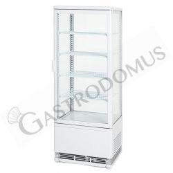 Frigo vetrina per bibite - 2 porte - capacità 98 LT - temp.  0° C/ + 12° C