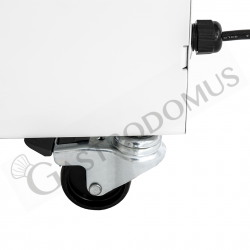 Impastatrice a spirale vasca estraibile - Capacità 32 LT - Monofase 230 V - 1 velocità